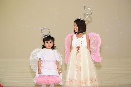 Angel, Cute, Halo, Kids, Boys, Costume, Performance