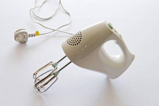 Food Mixer, Hand Held, Electric, Whisks, Kitchen