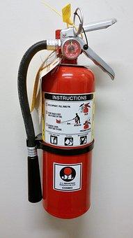 Extinguisher, Fire-extinguisher, Fire-suppressor