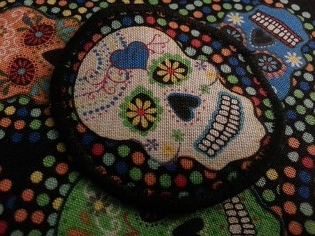 Skull, Day Of The Dead, Hallo, Halloween, Gothic, Death