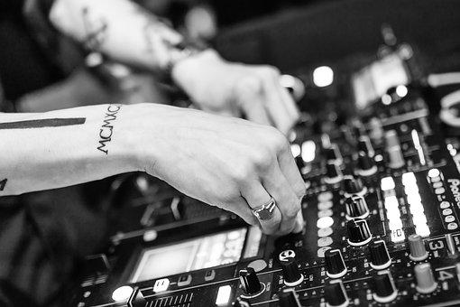 Dj, Deejay, Music, Nightclub, Sound, Party