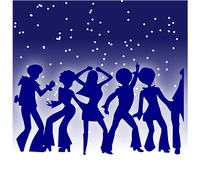 Party, Dancing, Dancer, Disco, Seventies, Music
