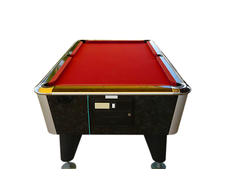 Billiards, Pool Table, Red