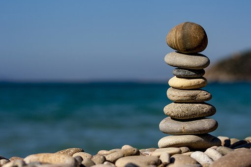 Sassi, Sea, Macro, Colors, Stones, Balance, Stone