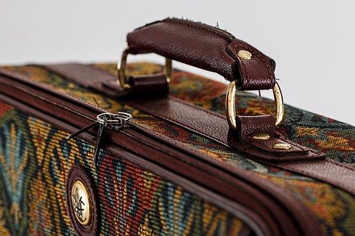 Suitcase, Luggage, Baggage, Bag, Case, Travel, Vacation