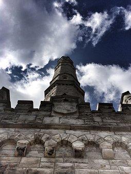 Battlefield Monument, 1812 War, Battlefield, Sky