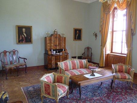 Room, Sojourn, Hospitable, Furniture, Office, Antique