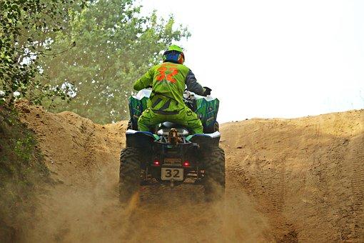 Motocross, Enduro, Atv, Quad, All-terrain Vehicle
