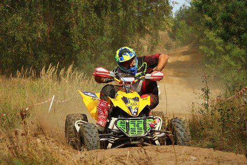 Cross, Motocross, Quad, Atv, Motocross Ride, Race