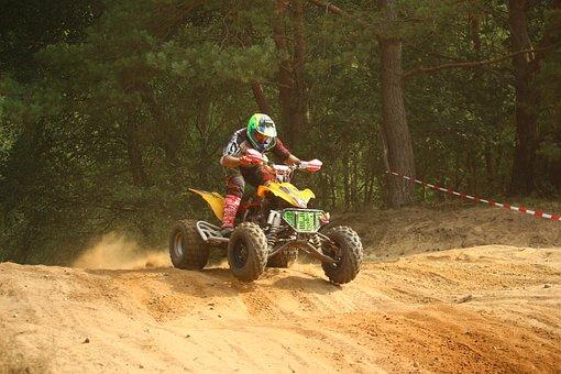 Cross, Quad, Atv, Enduro, Motocross, Sand, Motorsport