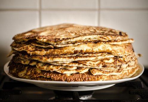 Pancakes, Party, Children, Fun, Recipe, Baking, Cooking