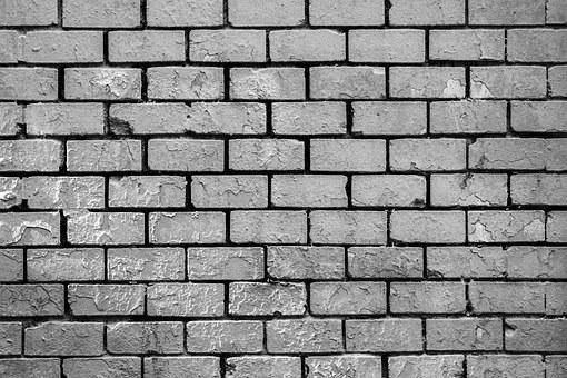 Wall, Graffiti, Bricks, Black And White, Mural, Street