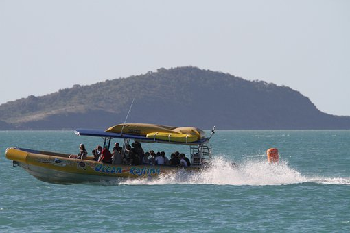 Power Boat, Boot, More, Powerboat, Great Barrier Reef