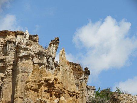 Canyon, Landscape, Dry Heat, Yns Forest Soil