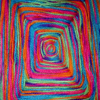 Wool, Color, Colorful, Cat's Cradle, Fabric, Tissue
