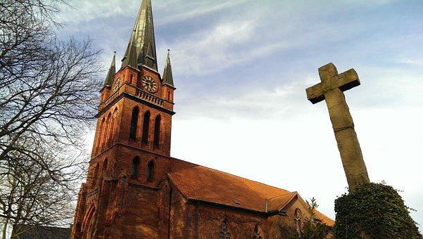Church, Community, Village, Amelinghausen, Faith