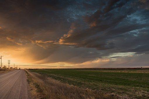 Colorado, Sunset, Twilight, Dusk, Evening, Landscape