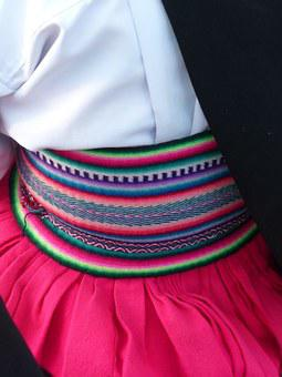 Peru, Colourful, Colorful, Color, Traditional, Textile