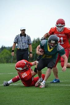 Football, American Football, Cooperation, Courage