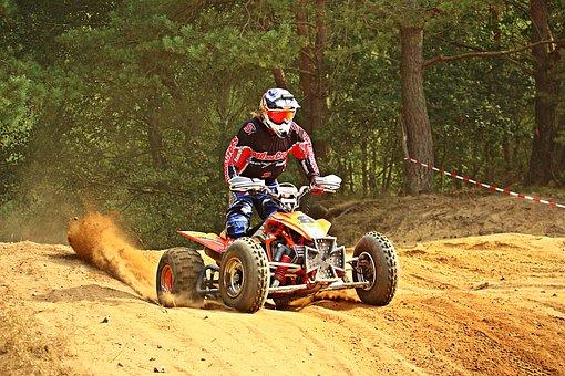 Motorsport, Atv, Quad, Motocross, Cross, Motorcycle