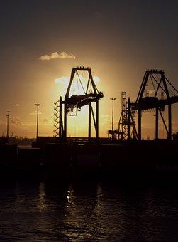 Crane, Derrick, Rig, Industrial, Machine, Platform