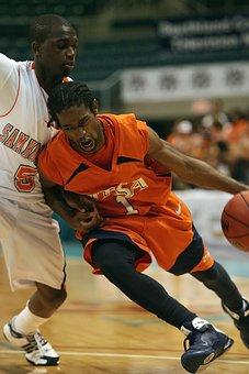 Basketball, Dribbling, Driving, Player, Aggressive