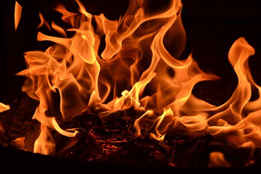 Flames, Inflamed, Fire