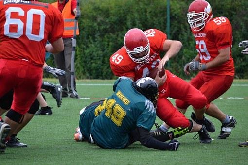 American Football, Football, Contact Game, Opponent