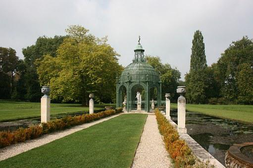 Garden, English Garden, Island Of Love