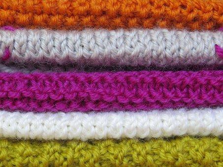 Knit, Knitting Pattern, Colorful, Wool, Hand Labor