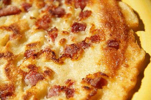 Ham Pancakes, Crispy, Delicious, Kross, Hearty