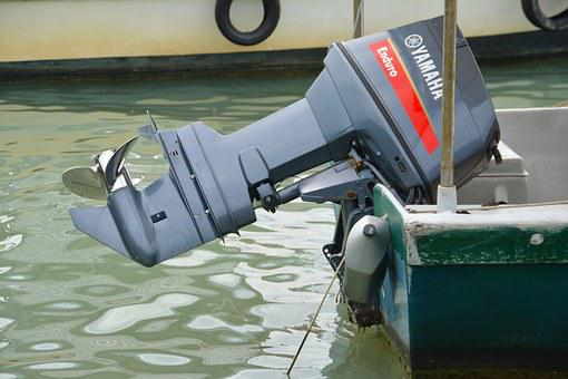 Outboard, Boat, Motor, Motorboat, Engine, Water, Sea