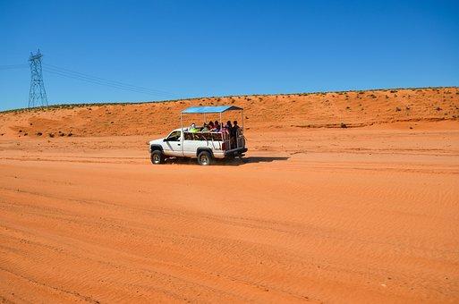 Usa, America, Arizona, Antelope Canyon, Navajo, Sand