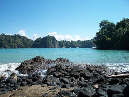 Costa Rica, Manuel Antonio, Ocean, Peaceful, Water