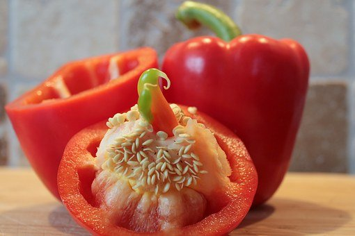Paprika, Peppers, Vegetables, Food, Healthy, Red Pepper