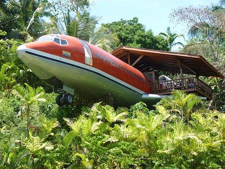 Plane, Hotel, Jungle, Costa Rica, Manuel Antonio