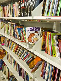 Books, Used, Secondhand, Calvin And Hobbes, Paper, Read