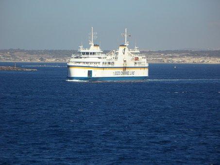 Ferry, Car Ferry, Translate, Shipping, Ship Traffic