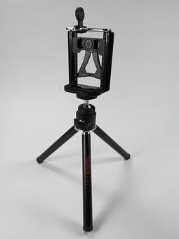 Camera, Tripod, Photograph, Shoot