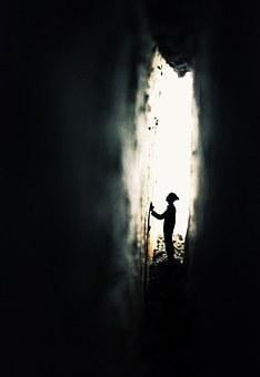 The Gaps, Picture, Explore, Prayer, Backlighting, Male