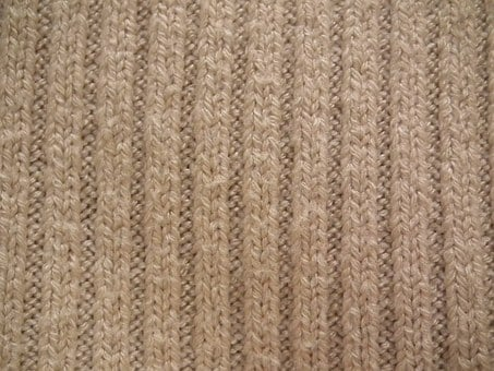 Fabric, Knitted, Material, Knitted Wear, Wool, Knitting