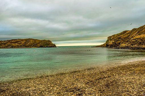 Lulworth Cove, Landscape, Beach, Bay, Travel, Tourism