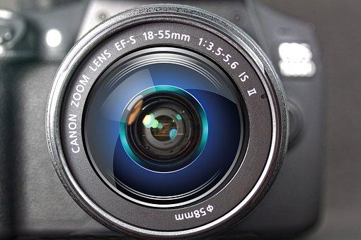 Camera, Digital, Srl Camera, Lens, Canon, Technology