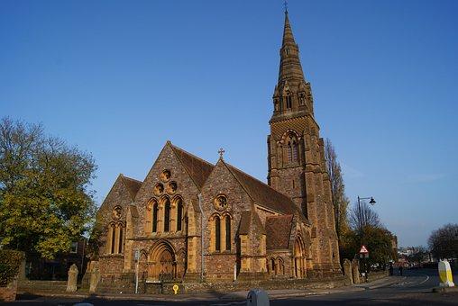 England, Taunton, Church, Temple, Architecture
