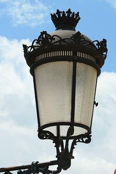 Street Lamp, Sky, Clouds, Light, Creative, Lighting