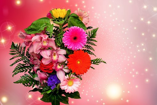 Emotions, Flowers, Valentine's Day, Give, Joy, Love