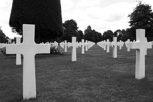 Omaha Beach, Normandy, France, D-day, The War