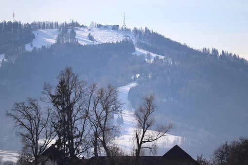 Landscape, Winter, Nature, Frost, Mountains