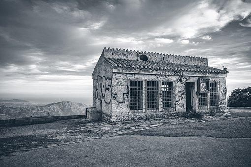 House, Abandoned, Dilapidated, Lapsed, Architecture