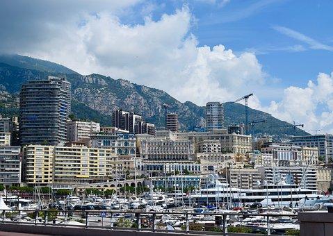 Monaco, Marina, Boats, Port, Harbor, Yacht, Monte Carlo